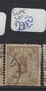 ICELAND   (PP1607B)  5 A  SC O5    OFFICIAL  VFU