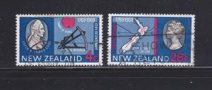 New Zealand 431, 434 U Famous People (B)
