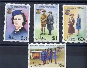 1985 Scouts Nevis Girl Guides 75th anniversary