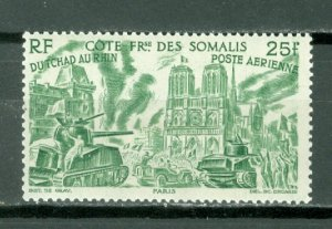 SOMALI COAST CHAD-RHINE #C13...MINT...$4.75