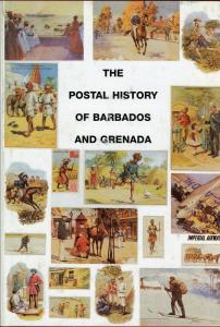 THE POSTAL HISTORY OF BARBADOS & GRENADA BY EDWARD B. PROUD