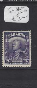 SARAWAK  (P1209B)  BROOKE 5C  SG 110     MNH
