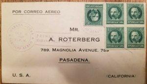 O) 1927  BARTOLOME MASO SC 239 - PRIMER VIA CARIBE - KEY WEST, PASADENA