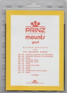 PRINZ US-SS (11) BLACK MOUNTS RETAIL PRICE $7.50