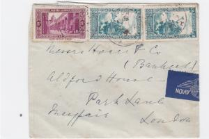 Hotel de L`Oasis Algeria 1937  stamps cover R20473