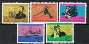 MALAGASY REPUBLIC 1976 CENTENARY OF 1st TELEPHONE CALL