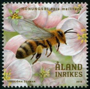 HERRICKSTAMP NEW ISSUES ALAND Sc.# 408 Beekeeping