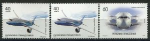 136 - MACEDONIA 2012 - Airplanes - MNH Set + ERROR Makdonija(Missing E)