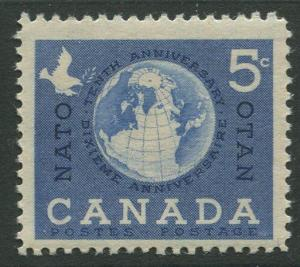 STAMP STATION PERTH Canada #384 Globe and Dove 1958 MNH CV$0.35