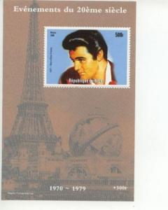 Niger Elvis Presley 20th Century Events SS   MNH