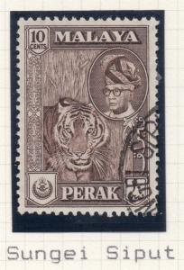 Malaya Perak 1957-65 Early Issue Fair Postmark on Used 10c. 176519