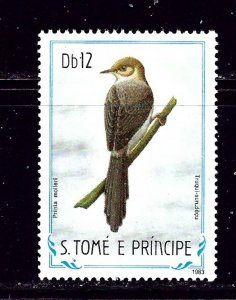 St Thomas and Prince Is 737 1983 Birds