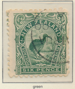 New Zealand Stamp Scott #92, Used - Free U.S. Shipping, Free Worldwide Shippi...