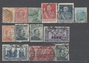 COLLECTION LOT # 4504 ITALY 13 STAMPS 1867+ CV+$22 CLEARANCE