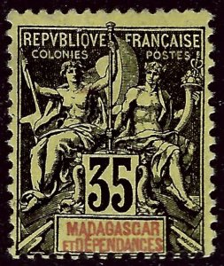 Malagasy/Madagascar (Scott #41) Fine Mint...Get it before prices go up again!