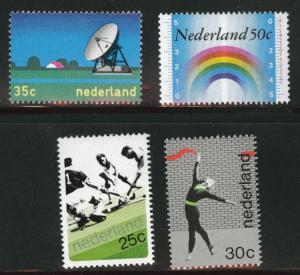 Netherlands Scott 506-509 MNH** 1973 set CV$2.35