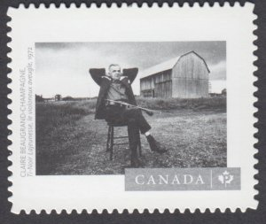 Canada - #3012i  Canadian Photography Blind Violinist, Die Cut Stamp - MNH