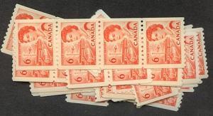 Canada - 6c Orange Centennial coil X 75 mint #468A