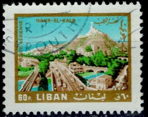 Lebanon; 1966: Sc. # C491: O/Used Single Stamp