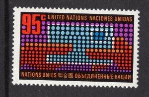 United Nations  New York  #226  1972  MNH  letter changing hands