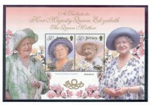 Jersey Sc 963a 2000 100 yrs Queen Mother sheet mint NH