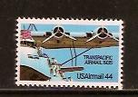 #C115 Transpacific Airmail Single Mint NH
