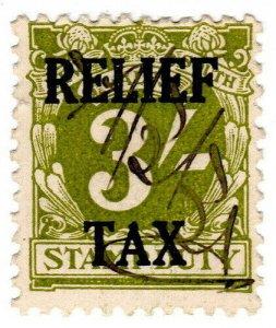 (I.B) Australia - NSW Revenue : Relief Tax 3/-