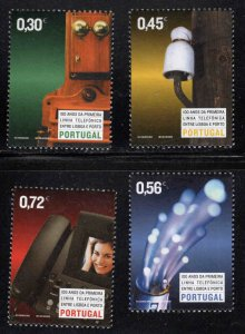 PORTUGAL Scott 2653-2656 MNH** Telecom stamp set