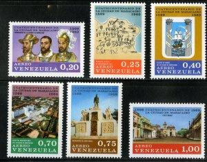 VENEZUELA C1013-8 MNH SCV $4.85 BIN $2.50 MILITARY