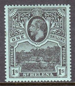 St. Helena - Scott #68 - MLH - SCV $11