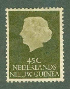 R84-0007 NETHERLANDS NEW GUINEA 33 USED BIN $1.25