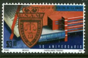 MEXICO 2223, School of Law University of Mexico 50th Anniv. MINT, NH. F-VF.