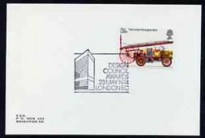Postmark - Great Britain 1974 card bearing illustrated ca...