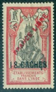 French India #114  Mint  Scott $16.00