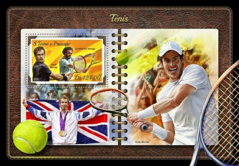 HERRICKSTAMP NEW ISSUES ST. THOMAS Tennis S/S