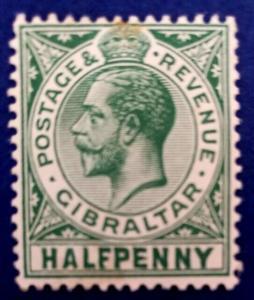 Gibraltar Scott # 39 Mint (A164)