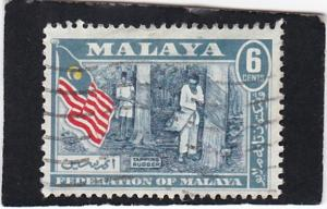Malay,  Federation  of Malaya #  80