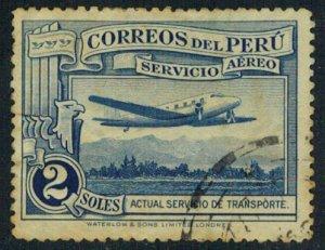 Peru Scott 36 Used.