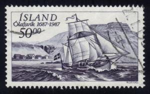 Iceland #637 Olafsvik Trading Station - used (1.25)