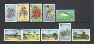 Barbuda #170-5 178-81 mnh cv $8.10