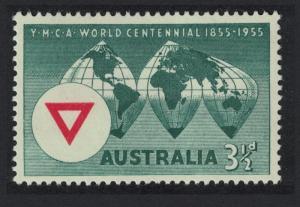 Australia World Centenary of YMCA SG#286