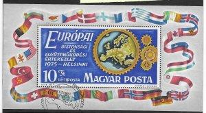 Hungary #C362 Used - Souvinir Sheet - CAT VALUE $3.75