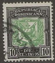 DOMINICAN REPUBLIC SC #   133  USED
