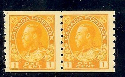 Canada #126i paste-up pair   Mint VF NH