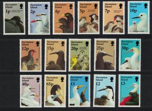 Ascension Petrel Tern Sparrow Birds and their Young 16v SG#679-694