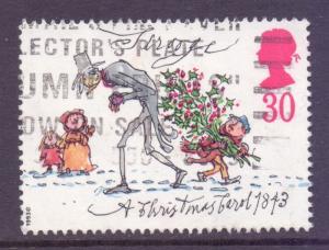 GB Scott 1530 - SG1792, 1993 Christmas 30p used