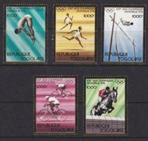 Togo 1976 SC 923A-923E MNH Set Olympics