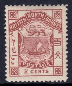 North Borneo - Scott #27 - MH - SCV $2.25
