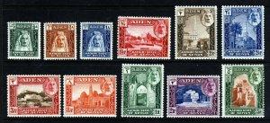 ADEN KATHIRI STATE OF SEIYUN 1942 Set SG 1 to SG 11 MINT