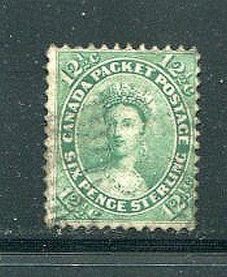 Canada #18a  used F-VF    - Lakeshore Philatelics